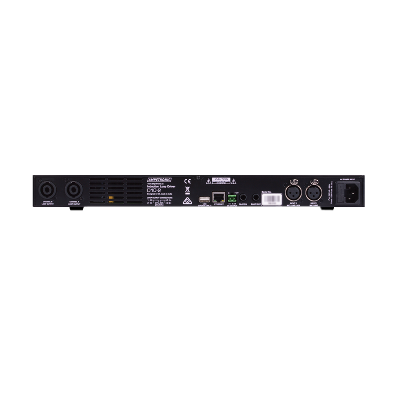 D10-2 networkable DSP hearing loop driver