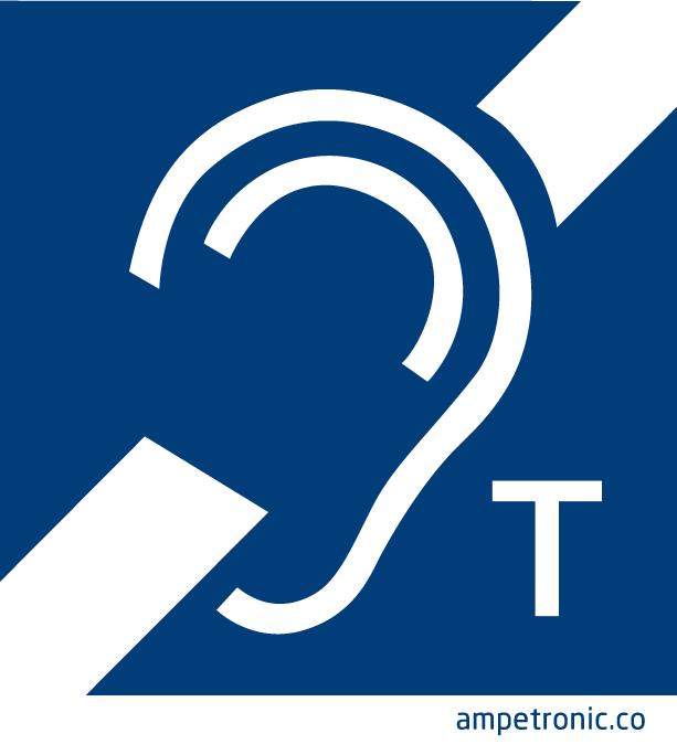 Hearing loop signs