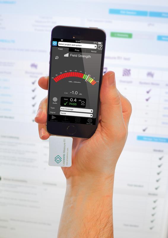 Loopworks Measure iOS app