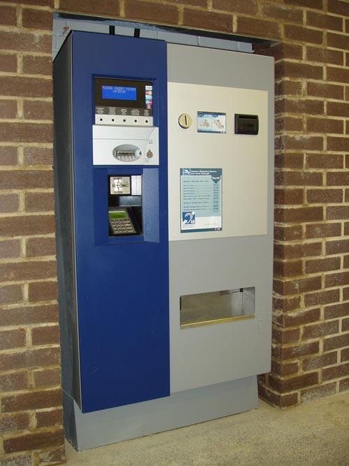 Car park ticket machines