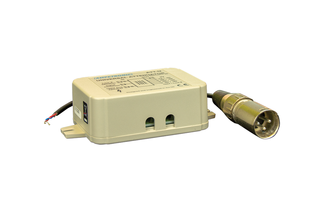 ATT-UX Universal attenuator / adaptor with XLR cable