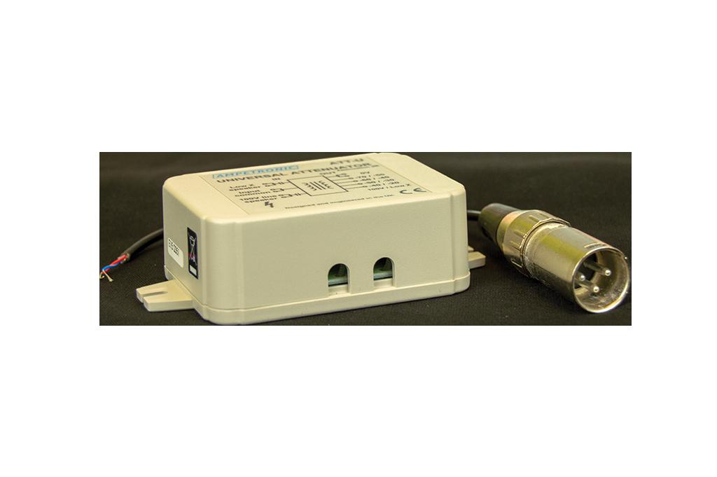 ATT-UX Universal attenuator / adaptor with XLR cable