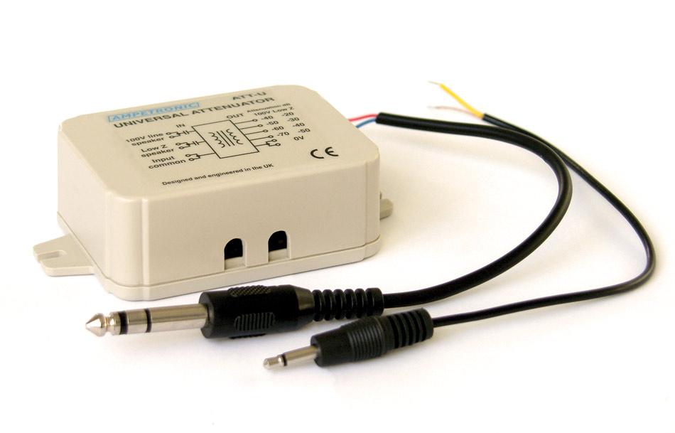 ATT-UJ speaker line input adaptor