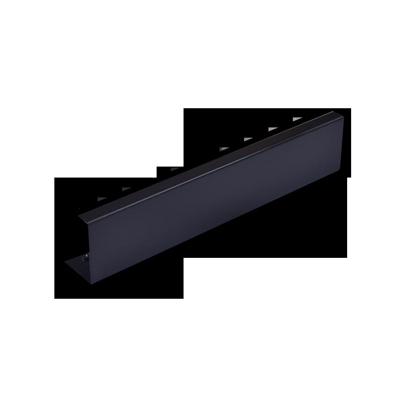 Blanking plate half-width