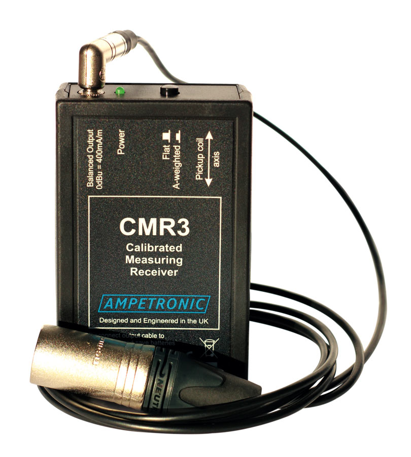 CMR3 Calibrated measuring receiver for audio analysers