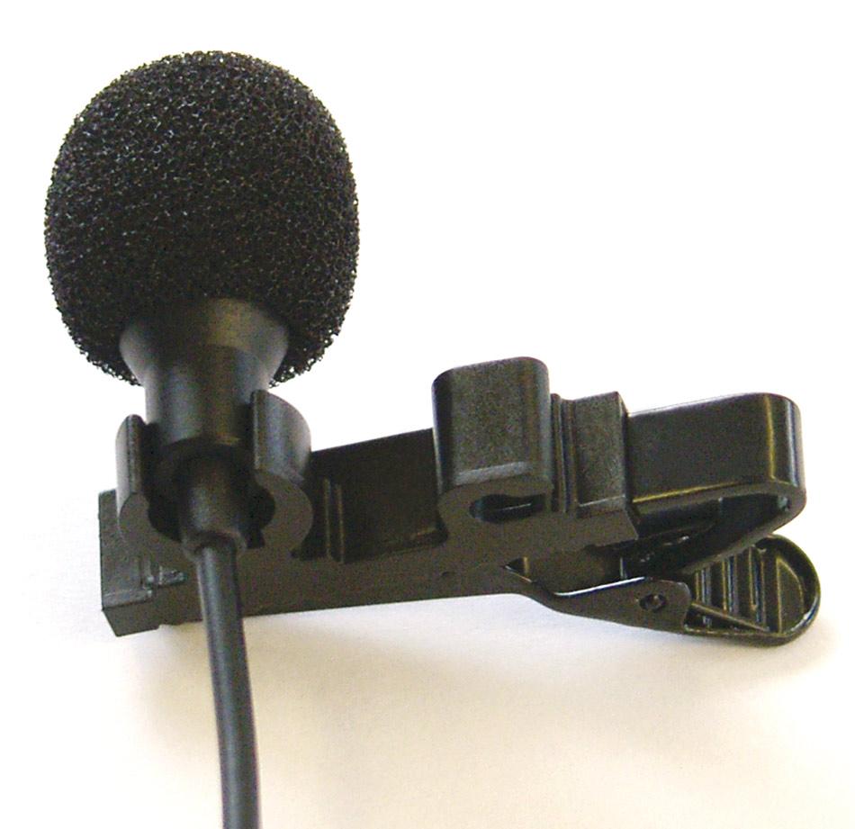 EM1.2 Tie clip microphone
