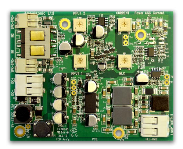 HLS-DM2 Hearing Loop Driver Module