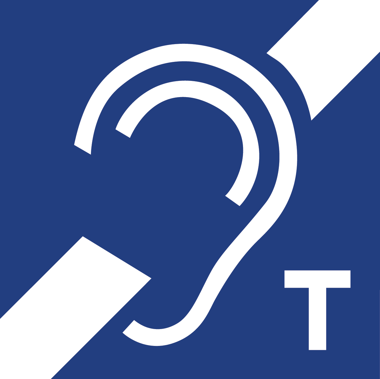 Hearing loop signs