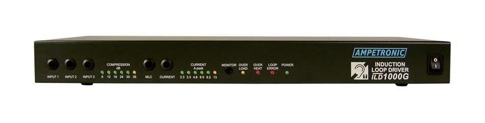 ILD1000G Professional rack mountable loop driver
