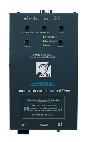ILD100 Small area, VOX switching loop driver