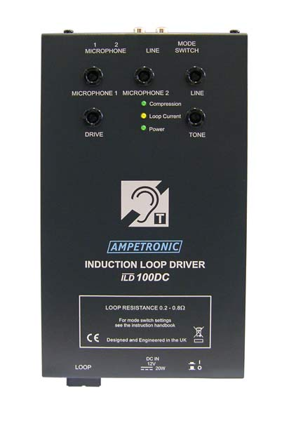 ILD100 DC small vehicle, VOX switching loop driver