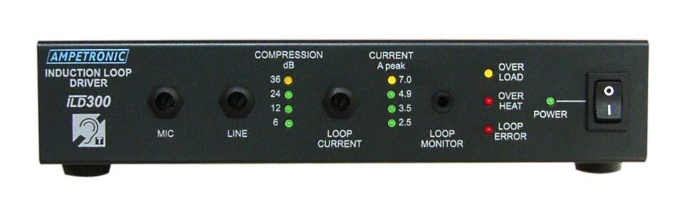 ILD300 Professional rack mountable loop driver