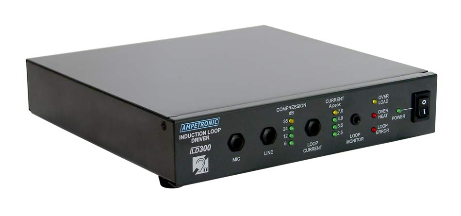 ILD300 Professional rack mountable loop driver