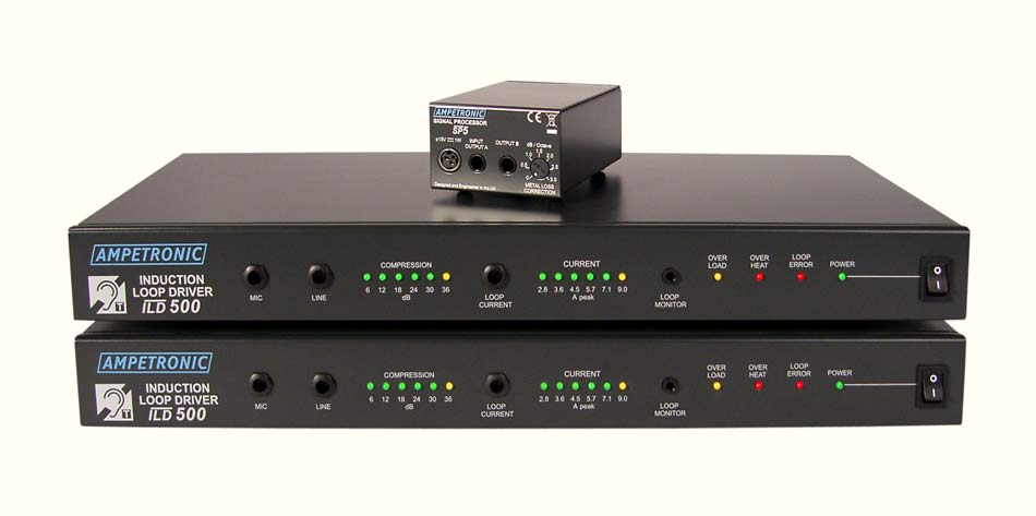 ILD500 Professional rack mountable loop driver