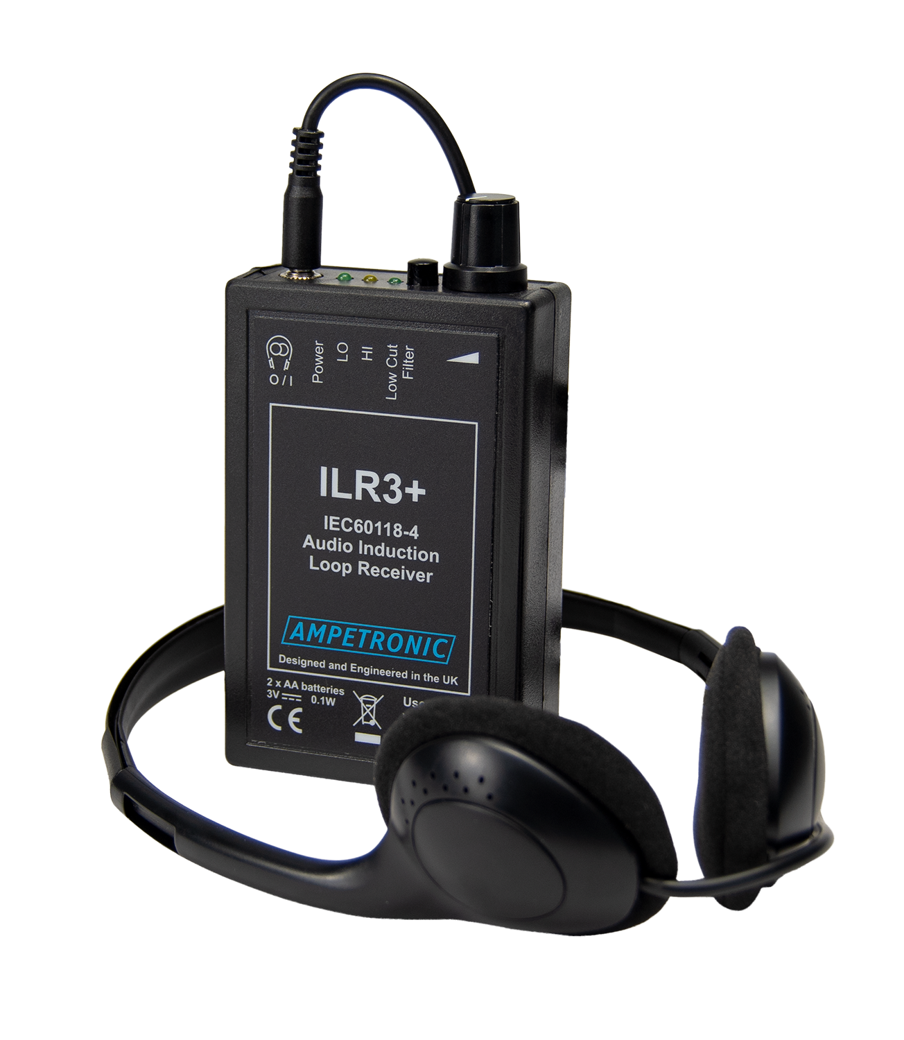 ILR3+ hearing loop tester / receiver
