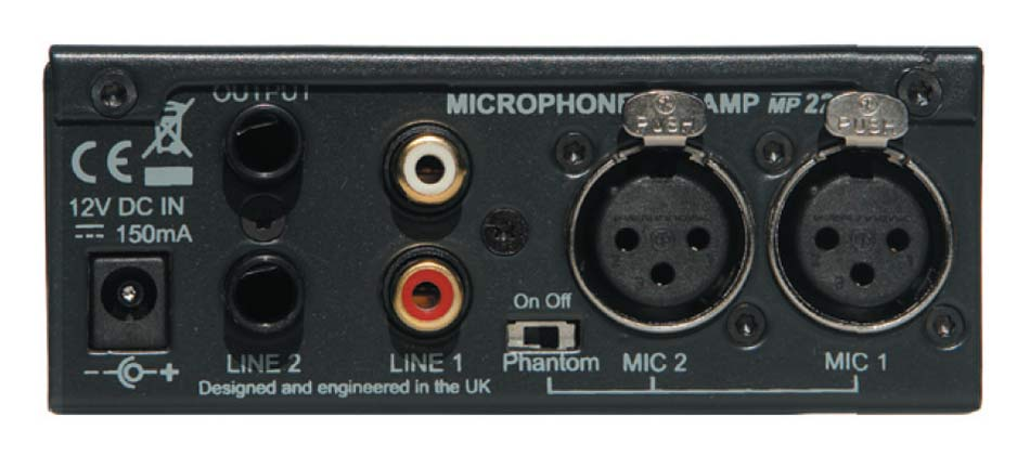 MP221 Microphone preamp