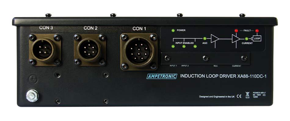XA88 transport hearing loop driver