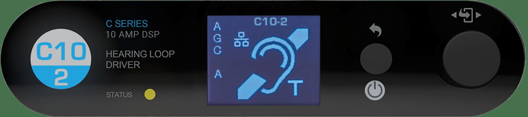 C10-2 MultiLoop hearing loop driver