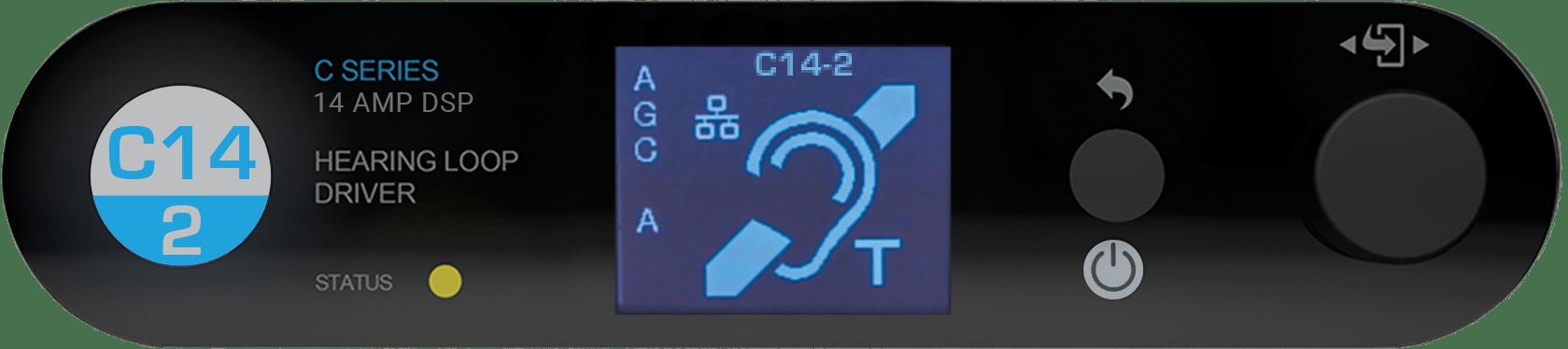 C14-2 MultiLoop hearing loop driver